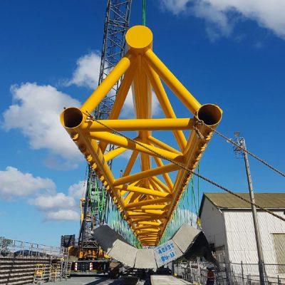 Subcon - 40m Concrete Mattress Lift Beam